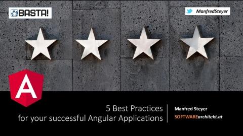5 Best Practices